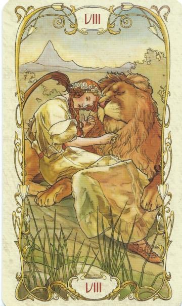 La force, par Alfons Mucha