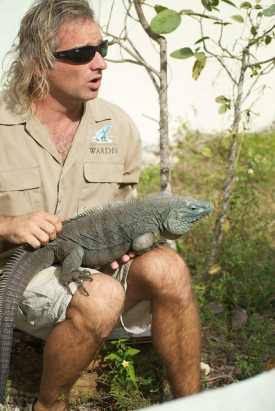 Queen Elizabeth II Botanical Gardens and the Blue Iguana Recovery Program
